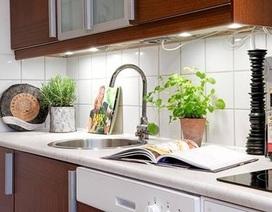 Bài trí bếp và chậu rửa hợp phong thủy