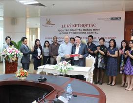 Tân Hoàng Minh ký hợp tác chiến lược với Indochina finance