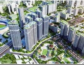 Tòa C Kim Văn Kim Lũ (Golden Central Tower) đẩy nhanh tiến độ thi công