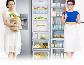 Có bí quyết hay nhận ngay tủ lạnh