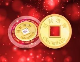 """Sacombank – SBJ ra mắt sản phẩm đồng tiền may mắn """"Chiêu Tài – Tấn Bảo"""""""