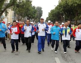 """Tập đoàn Hương Sen đồng hành cùng """"Ngày chạy Olympic vì sức khoẻ toàn dân"""""""