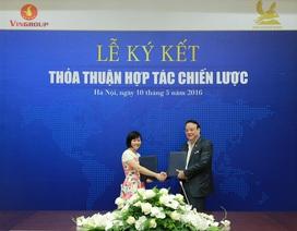 Vingroup và Tân Hoàng Minh ký thỏa thuận hợp tác chiến lược toàn diện