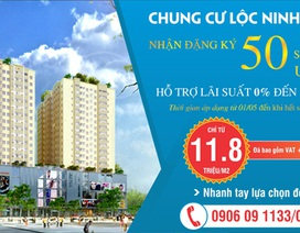 Chung cư Lộc Ninh Singashine hỗ trợ lãi suất 0% cho người mua