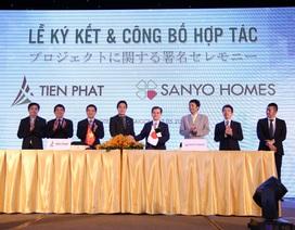 Tiến Phát hợp tác với Sanyo Homes trong dự án Căn hộ mới