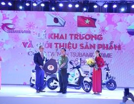 Tsubame E-time mạnh tay tặng 100 xe máy điện cho Công an Hà Nội