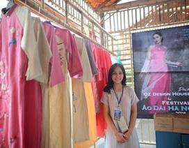 OZ Design House, thanh âm trong veo đậm ký ức tôi gặp tại Festival áo dài Hà Nội