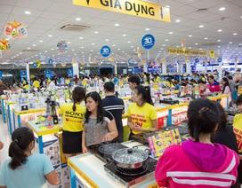 9 tháng, Điện máy Xanh tiếp tục duy trì tăng trưởng doanh thu trên 200%