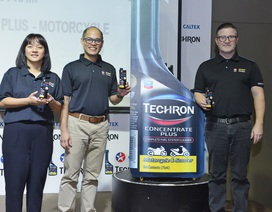 Caltex ra mắt sản phẩm làm sạch động cơ xe máy
