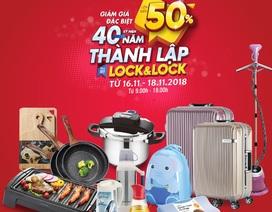 Lock&Lock sale khủng cuối năm giảm giá hơn 50% các mặt hàng