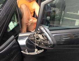 Diễn viên Lan Phương bị cướp kéo lê trên đường?