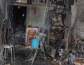 Chập điện, cháy rụi căn nhà vắng chủ