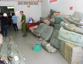 50 kiện hàng nghi nhập lậu qua đường hàng không