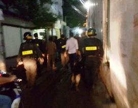 Hơn 200 cảnh sát vây bắt bà trùm ma túy trong đêm