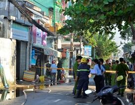 Cháy xưởng dệt may, 1 người chết, 4 người bị thương