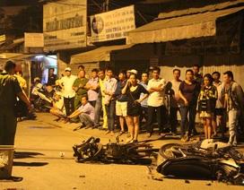 2 xe máy đâm nhau kinh hoàng, 2 người chết