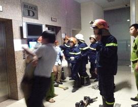 Vụ 16 người kẹt trong thang máy: Nhiều người đã nghĩ đến cái chết
