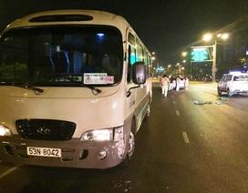 Chạy ngược chiều, tài xế xe khách bị đánh nhập viện