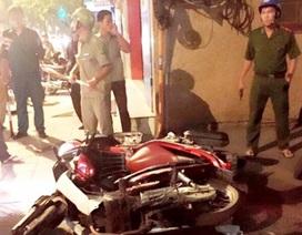 Dàn cảnh va chạm giao thông, cướp xe máy trong đêm