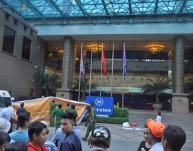 Người đàn ông rơi trước khách sạn Sheraton Saigon, tử vong