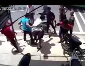 Xác định được 2 nhóm thanh niên cầm hung khí truy sát nhau