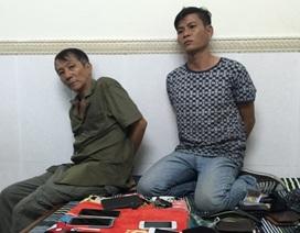 Tóm gọn băng trộm hàng chục điện thoại nhờ thiết bị định vị