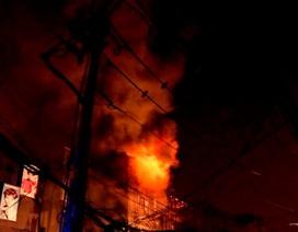 Tạm giữ thanh niên liên quan đến vụ cháy nhà ở phố Tây