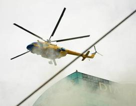 Bí thư Đinh La Thăng gợi ý TPHCM thuê trực thăng để chữa cháy