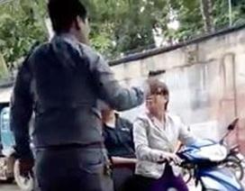 Xác định khẩu súng nghi giám đốc công ty bảo vệ dí vào đầu phụ nữ