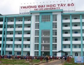 Trường ĐH Tây Đô được tuyển sinh ngành Kỹ thuật môi trường
