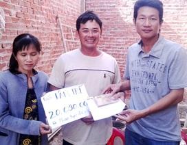 Hơn 20 triệu đồng đến với gia đình bà Phạm Ngọc Điệp