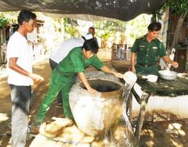 Lính Biên phòng tham gia chiến dịch chống sốt xuất huyết