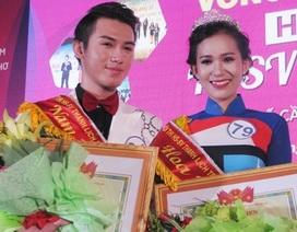 """""""Lộ diện"""" tân Hoa khôi và Nam vương HSSV thanh lịch Cần Thơ 2016"""