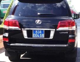 Công an Sóc Trăng nói gì về 4 xe Lexus biển xanh số đẹp?