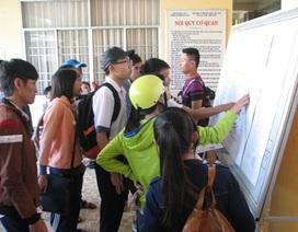 ĐH Võ Trường Toản công bố kết quả trúng tuyển nguyện vọng bổ sung đợt 1