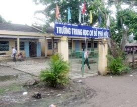 Hàng chục năm mong ngóng ngôi trường khang trang