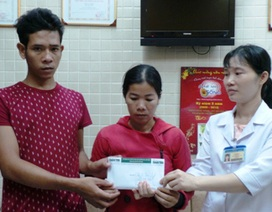Gia đình bé Kim Trung Tín ủng hộ lại các hoàn cảnh khó khăn 132 triệu đồng
