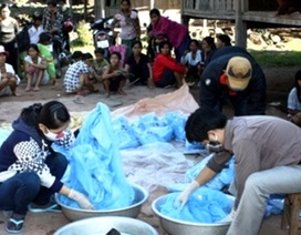 Dân di cư vào vùng dịch, nguy cơ sốt rét bùng phát