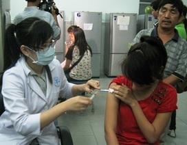 Tiêm vắc xin sởi - rubella cho đối tượng vị thành niên