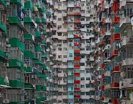 Ngợp mắt trước sự dày đặc chi chít của các tòa chung cư