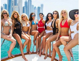 Hội nhà giàu Dubai khoe cuộc sống trên tiền
