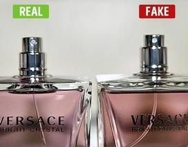 """Cách phát hiện chai nước hoa của bạn có là """"hàng xịn"""" hay không"""