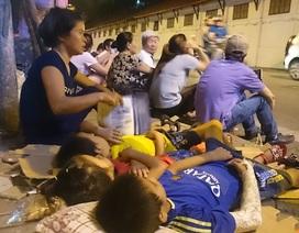Hà Nội: Trắng đêm đợi xem diễu binh, diễu hành