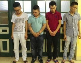 Hà Nội: Tạm giữ hình sự 4 đối tượng tham gia đua xe trái phép