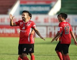 ĐT Long An muốn vô địch cả V-League lẫn Cúp Quốc gia?