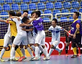 Thái Sơn Nam nhận huy chương đồng giải vô địch futsal châu Á 2015