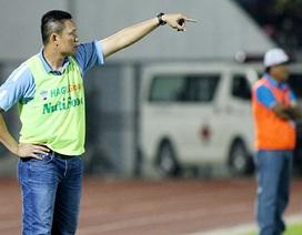 HLV HA Gia Lai bác bỏ ý kiến về chuyện thắng là nhờ đối thủ… buông