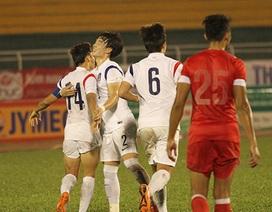 Thắng U21 Singapore, U19 Hàn Quốc vào chung kết gặp HA Gia Lai