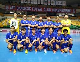 Thái Sơn Nam bất ngờ vô địch futsal nữ Đông Nam Á 2015