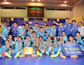 Hải Phương Nam vô địch cúp futsal quốc gia 2015